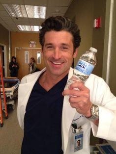 "Patrick Dempsey (Derek ""McDreamy"" Shepherd). Grey's Anatomy."
