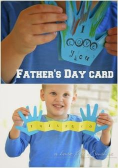 A happy Father's day gift perfect for little hands to make for their father.