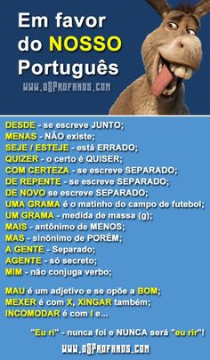 Build Your Brazilian Portuguese Vocabulary Portuguese Grammar, Portuguese Lessons, Portuguese Language, Learn Brazilian Portuguese, Learn A New Language, New Memes, Relationship Memes, Study Notes, Student Life