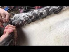 How to crest plait (under) - YouTube