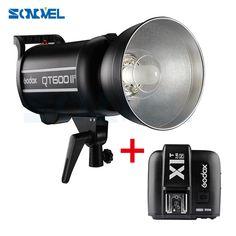 Godox QT600IIM + X1T-N QT-600 II 600WS GN76 HSS Studio Flash Light for NIKON