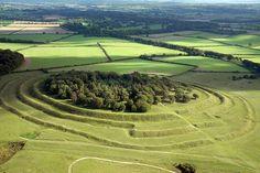 Badbury Rings Dorset - Iron Age fort