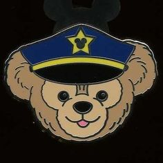 Disney Pin WDW 2012 Hidden Mickey Collection *Duffy Hat* Series - Police!
