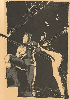 Hawkeye by a young Dave McKean