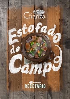 La Crianza is a delicious parfait and restaurant company which loves typography and therefor they asked Sysla Osorio, from Santiago, Chile to design their new commercial ads. We love typography combined with food, it could never be so appetizing. (Source: behance.net) Source