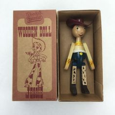 Woody's Round Up Wooden Doll Jessie Toy Story RARE Young Epoch | eBay