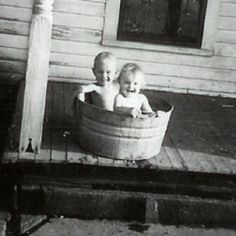 The Good Old Days---we use to do this...