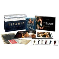 The GREATEST film.    Titanic Collector's Edition (Four-Disc Combo: Blu-ray 3D / Blu-ray / Digital Copy) (Amazon Exclusive)