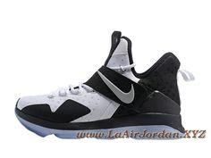 sports shoes c30a1 7d88d Nike Lebron 14 Noir Blance Chaussues Nike Pas cher Pour homme