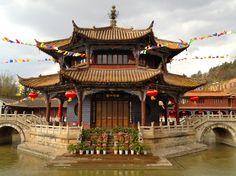 Pagoda, YuanTong Temple, Kunming Ming Dynasty, circa 1300 AD