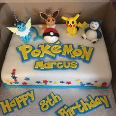 Have fun making this cake for Macus. Pokemon Go Cakes, Pokemon Party, Pokemon Birthday, Daughter Birthday, 9th Birthday, Boy Birthday Parties, Fondant Tutorial, Cake Creations, Cake Ideas