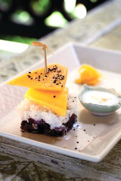 Mango Sticky Rice is @Four Seasons Resort Chiang Mai's signature dessert. Refreshing yet rich, and always perfectly ripe.