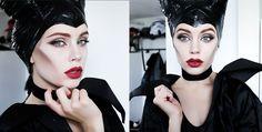 Maleficent Makeup Tutorial   Kostüm-Idee zu Karneval, Halloween & Fasching