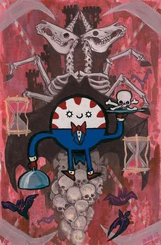 Adventure Time/ Character: Peppermint Butler.