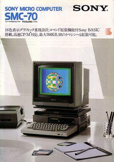 My Computer, kkomputer: SONY MICRO COMPUTER SMC-70 (1982) ...