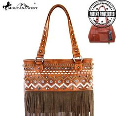 Montana West Fringe Collection Concealed Handgun Tote
