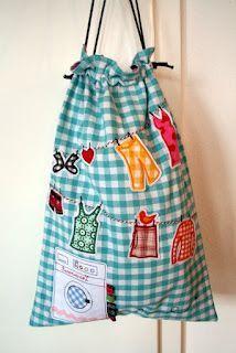 laundry bag :) cute!!