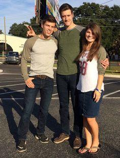 Lawson Bates, Tori Bates, Tori's boyfriend Bobby