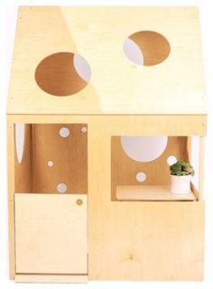 Circle Cutouts Playhouse
