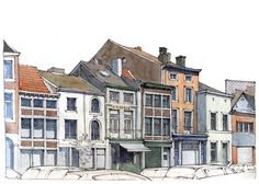 Liège, rue du Potay | Un peu de soleil, et beaucoup de vent… | Gérard Michel | Flickr
