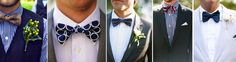 find the fabric and we can make the perfect bow tie to accompany your wedding outfit.