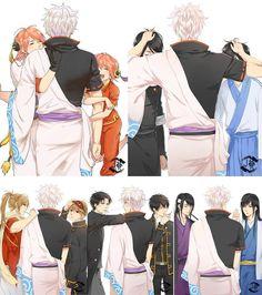 Anime Oc, Otaku Anime, Anime Manga, Kawaii Anime, Anime Guys, Samurai, Dark Fantasy, Gintama Funny, Gintama Wallpaper