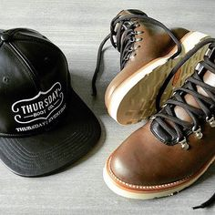 767a5ef2b0c Getting ready for the cold with Thursday Boot Co. s black leather hat