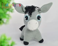 Looking for your next project? You're going to love Donkey Pattern - Amigurumi Crochet by designer Havva Unlu.