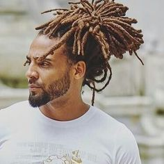 Dreadlocks Men, Dreadlock Rasta, Locs, Dreadlock Hairstyles For Men, Black Men Hairstyles, Men's Hairstyles, Wedding Hairstyles, Natural Hair Accessories, Natural Hair Styles