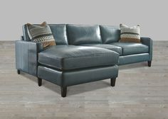 Sofa Cover St Martin Collection Teal Leather Sectional With Chaise Lounge