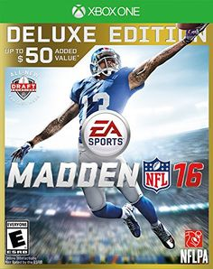 Madden NFL 16  Deluxe Edition  Xbox One * Click on the image for additional details.Note:It is affiliate link to Amazon.