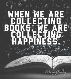 Collecting happiness.