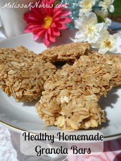 Need a quick and healthy snack? These are a crunchy granola bar, perfect for snacks, breakfast, back packs, or anywhere you need a quick bite. These make a large pan and are so much more frugal than going to the grocery store.