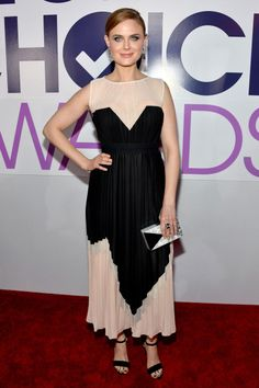 Emily Deschanel- People's Choice Awards 2014