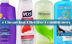 4 Cheap but Effective Conditioners for Natural Hair  Read the article here - http://www.blackhairinformation.com/products-2/products-reviews/4-cheap-effective-conditioners-natural-hair/ #conditioners #cheapconditioners #products