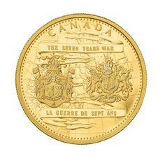 Pièce de un kilo en or pur - 250e anniversaire de la fin de la guerre de Sept Ans - Tirage  20 (2013)