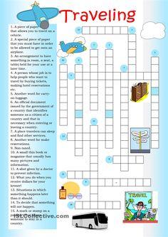 Crossword: Traveling