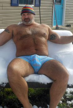 Beefy guys. Underwear. Beards'n'fur. Generally hot men. Oh, and a bit of me, too at /gpoy