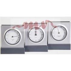 Ceas de bioru - termometru si higrometru