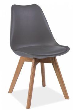 Krzesło ENZO białe Signal inspirowane Eames Eiffel SIGNAL