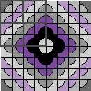 Designing Your Quilt - Coloring Quilt Design Pages ~ Drunkard Path Grids