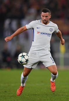 Danny Drinkwater of Chelsea in action during the UEFA Champions League group C match between AS Roma and Chelsea FC at Stadio Olimpico on October 31, 2017 in Rome, Italy. - 289 of 298
