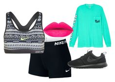 """Untitled #235"" by awesthoff0513 on Polyvore featuring NIKE and Victoria's Secret"