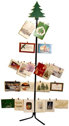 A Christmas Card Holder
