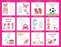 Personalized Gift Stickers for Kids – Set of 24! | Very Jane