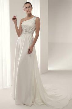 El sencillo y elegante #vestidonovia Azusa de #innovias por 325 euros