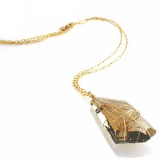 Desideri design crystal necklace