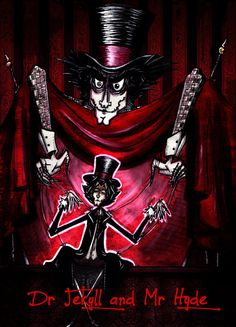 Dr. Jekyll and Mr. Hyde by K-Zlovetch on DeviantArt