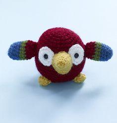 Amigurumi Parrot Pattern (Crochet)