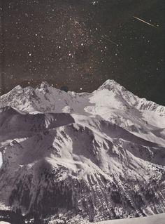 Stars, mountains